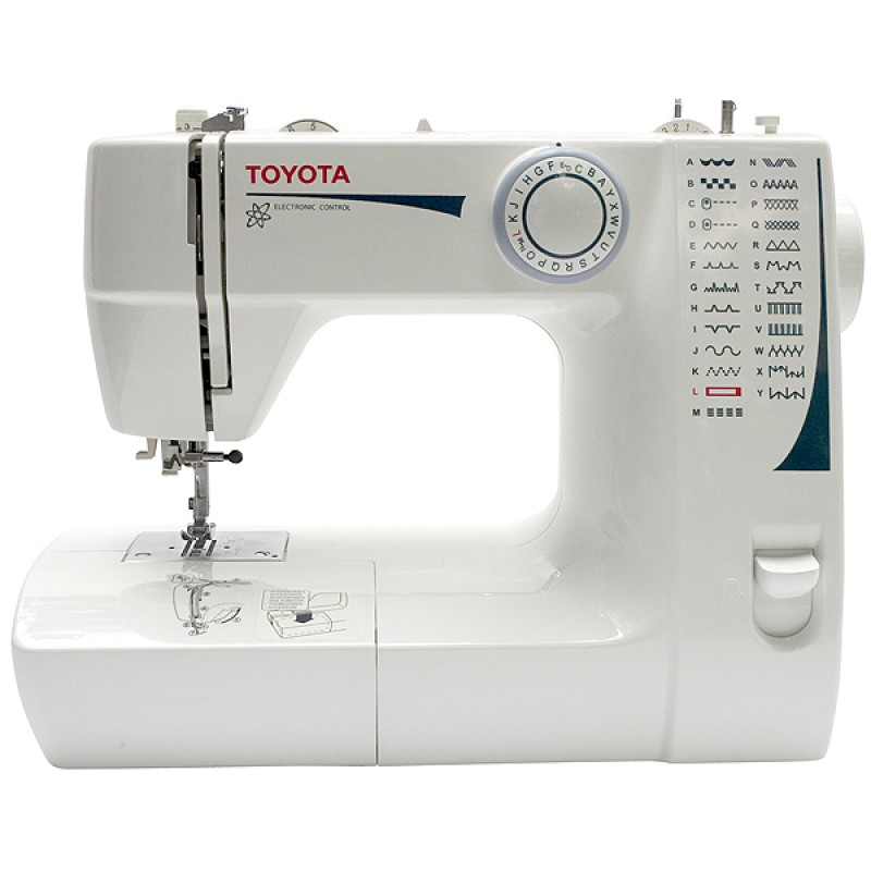 toyota sewing machine. Black Bedroom Furniture Sets. Home Design Ideas