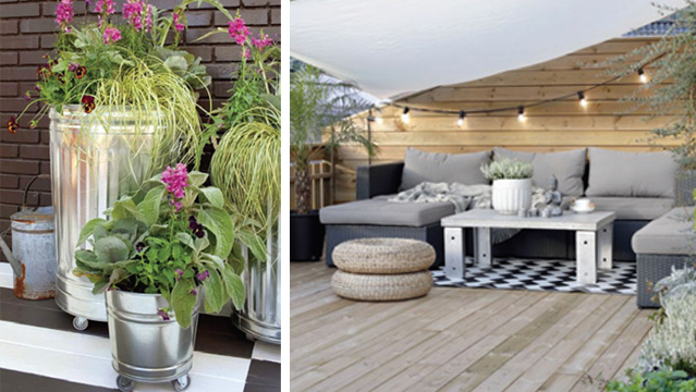 am nagement conseils et astuces am nager et d corer sa terrasse. Black Bedroom Furniture Sets. Home Design Ideas