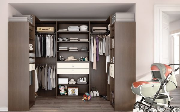 Dressing in u shape - Armoire penderie dressing ...