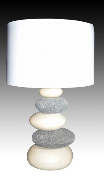 Table lamp with pebble lacase zoom aloadofball Images