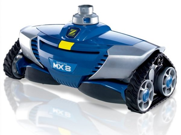 Robot aspirateur zodiac baracuda mx 8 for Aspirateur piscine zodiac vortex 3