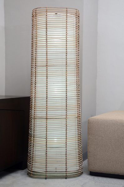 REF: Rattan Floor Lamp   212449. ZOOM +