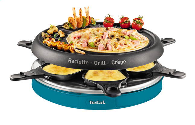 raclette 6 simply compact tefal. Black Bedroom Furniture Sets. Home Design Ideas