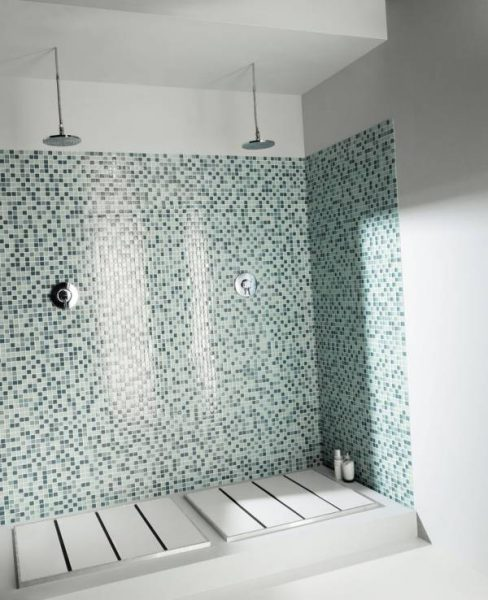 Crystal mosaique ceramic tiles by marazzi for Carrelage italien
