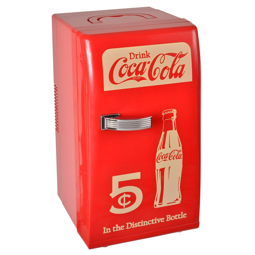 mini fridge coca cola. Black Bedroom Furniture Sets. Home Design Ideas
