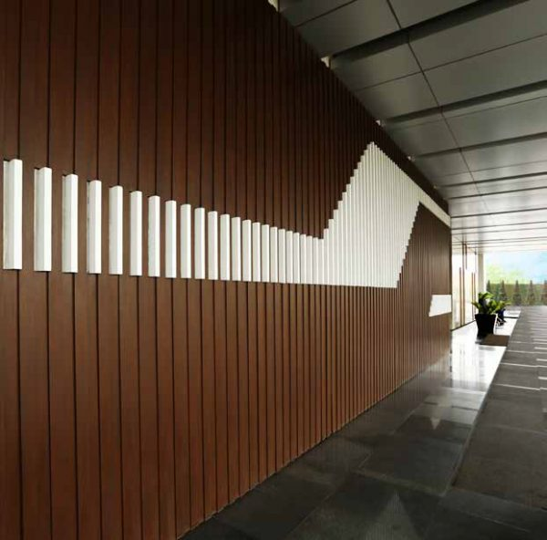 Outdoor Wall Covering CONWOOD