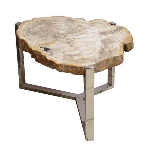 PIMENT ROUGE table basse fossile lacase.mu