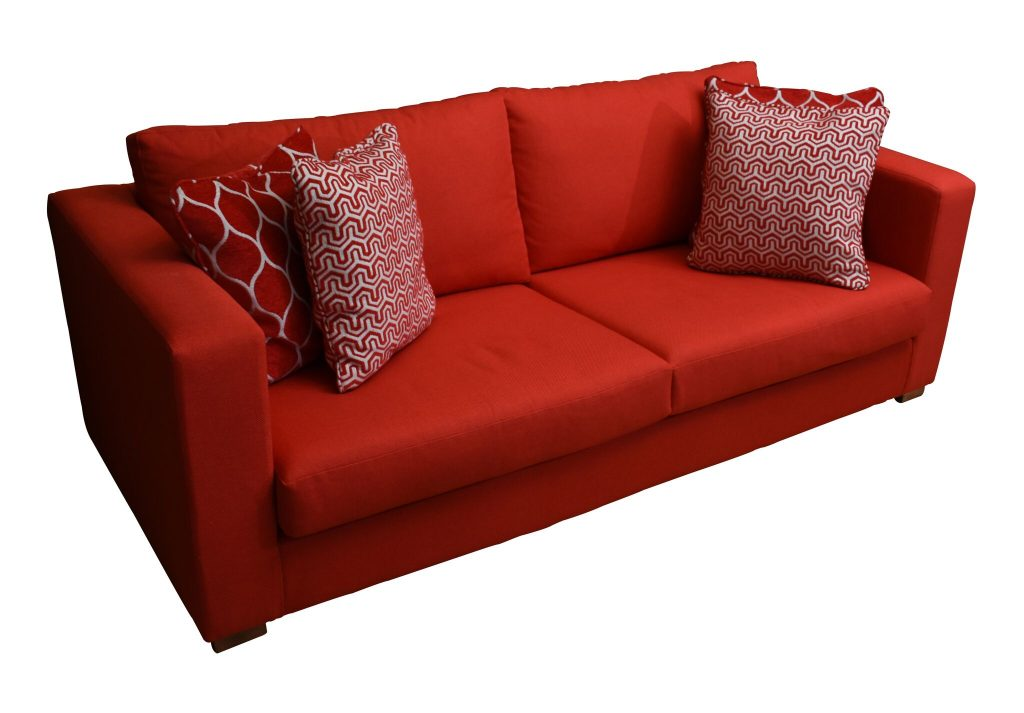 PIMENT ROUGE - Red sofa lacase.mu