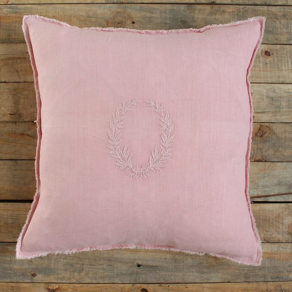 coussin-rose