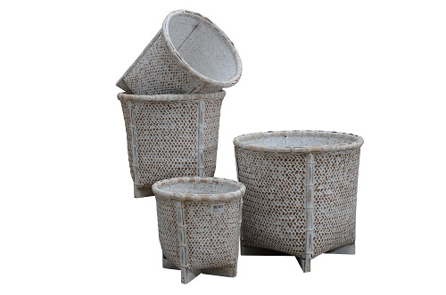 MACUMBA - Rattan pot holder lacase.mu outdoors