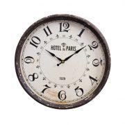 Horloge murale- Hotel Paris