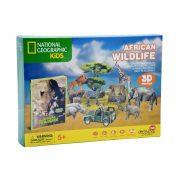 Puzzle 3D- Faune africaine