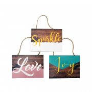 Suspended panel'' SPARLE LOVE JOY ''