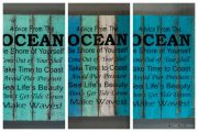 "Panneau décorative ""Advice from the Ocean"" - FOR19"