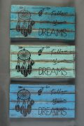 "Panneau décoratif ""Follow your dreams"" - FOR24"