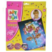 Art & Fun Sequin Flower & Butterfly SIMBA