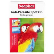 Anti-parasite spot on for large birds