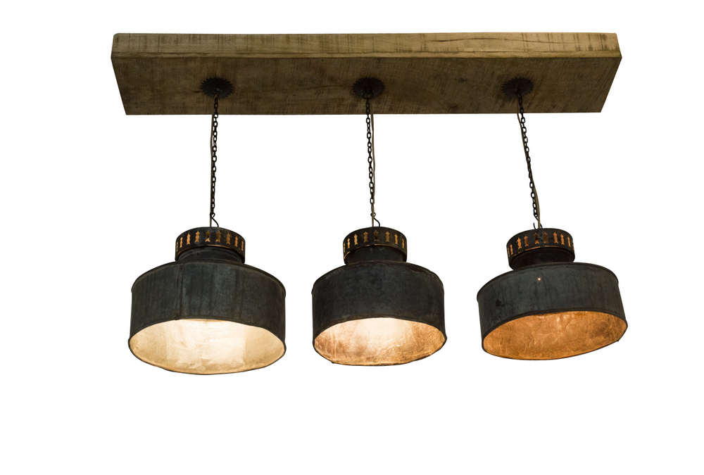 Set de 3 lampe suspension