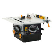 Table saw with integrated vacuum cleaner