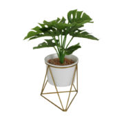 Plante artificielle sur support