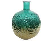 Vase avec feuille