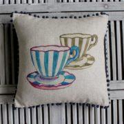 Teacups Cushion