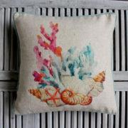 Cushion - Blue coral