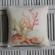 Coussin - Corail rouge