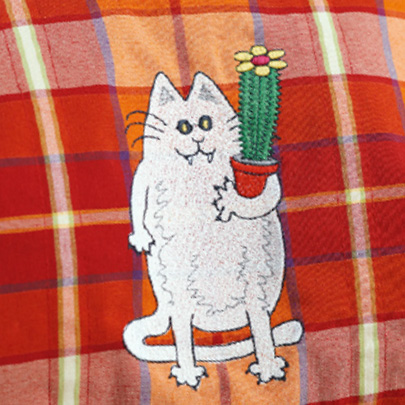 broderie-chat
