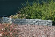 Brick panel decorative border
