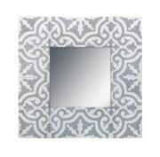 Cadre miroir en tuiles