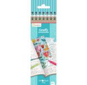Graffy Bookmark - Mandala/Fleurs ou Poésie