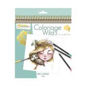 Carnet de coloriage Wild 3