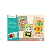 Boîte créative - Cartes à lacer