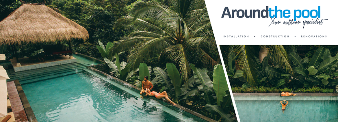 Around the pool LaCase Banner