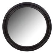 Cadre miroir rond