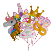Set pour photobooth Licorne