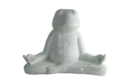 Statuette grenouille en méditation HOLLY