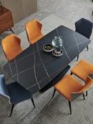 Table à manger et chaises FLOW MERLIN_1