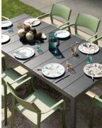 Table extensible et chaises Rio_2