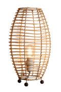Lampe de table en osier