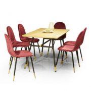 Table à manger et chaises Cortina