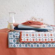 Serviettes de table unies coton